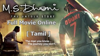 Watch MS Dhoni: The Untold Story Tamil Full Movie Online