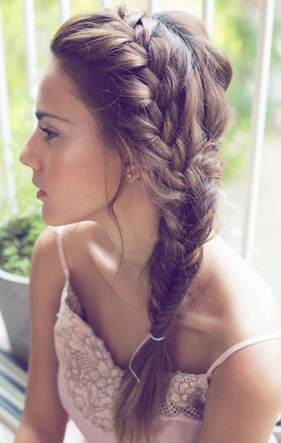 french_fishtail_braid I  Sexy, Fun & Flirty Summer Hairstyles