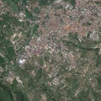 Comune di Polistena from satelite