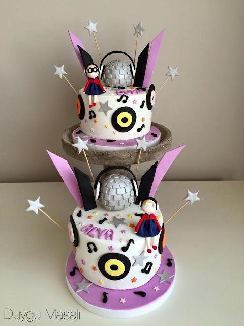 çocuk doğum günü pasta
