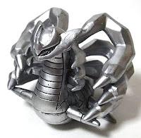 Giratina figure origin form platinum silver color Takara Tomy Monster Collection