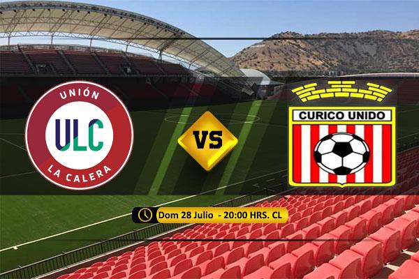 Mira Unión La Calera vs Curicó Unido en vivo y online por la Primera División