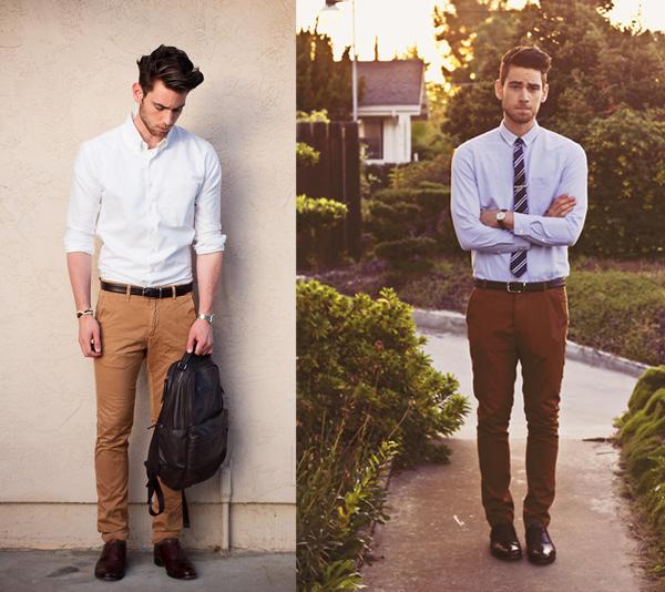 como usar calça marrom masculina social (2)