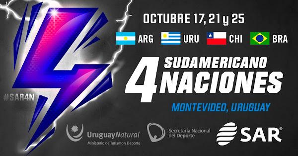 Argentina XV jugará el Sudamericano de rugby
