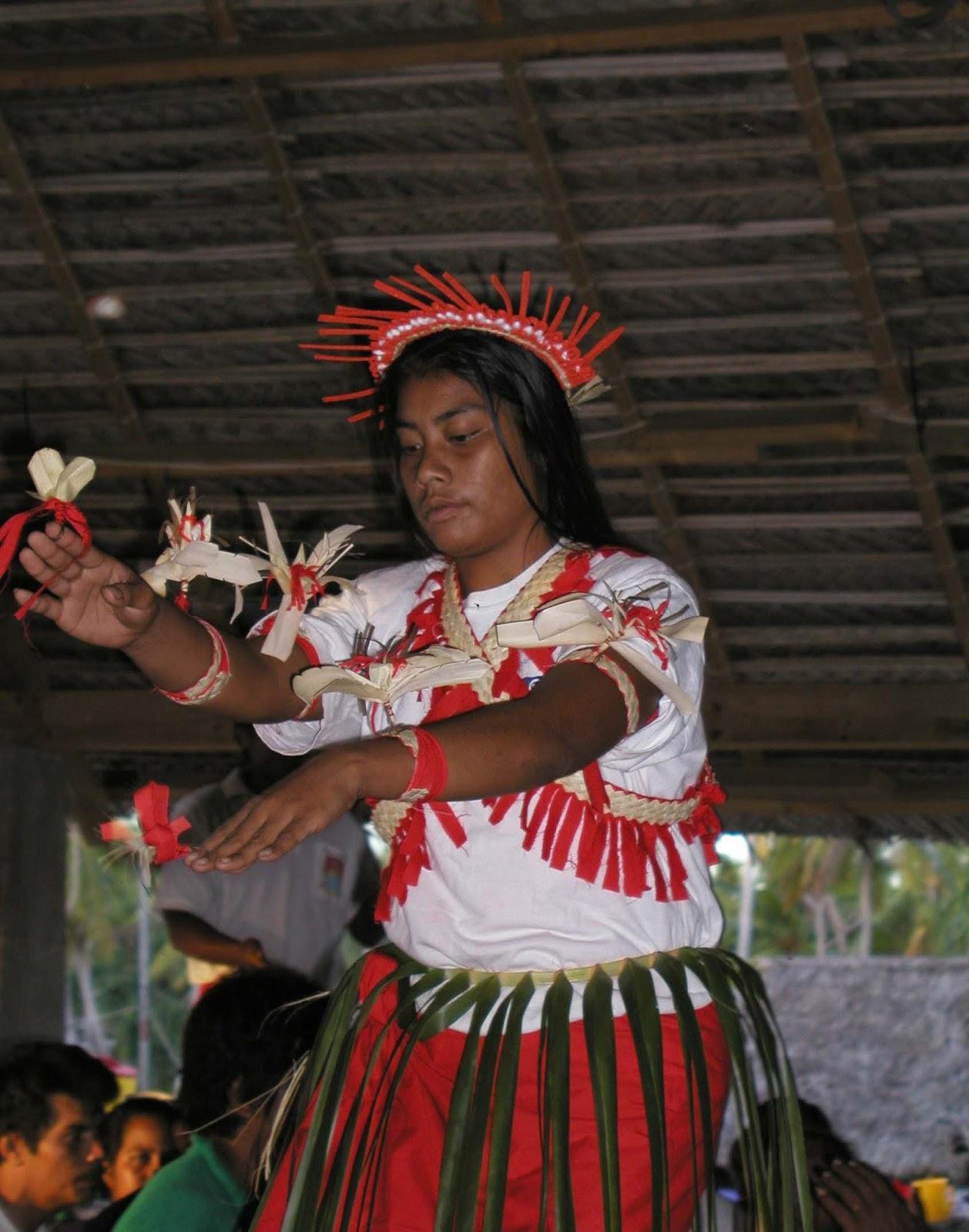 Kiribati woman
