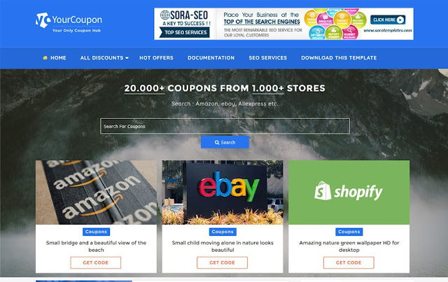 Your-Coupon-Responsive-Blogger-Template