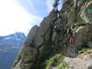 Escaleras Metálicas Tour del Mont Blanc