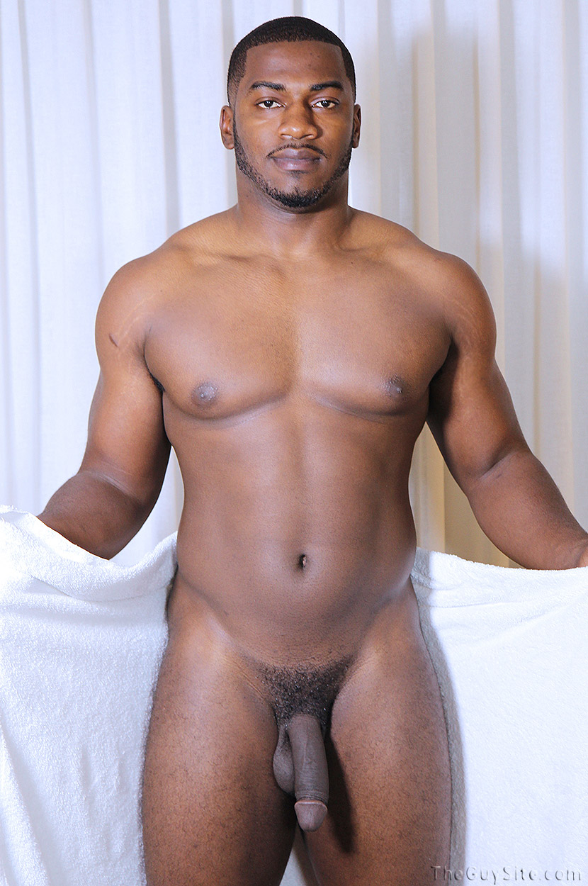 Can Sexy naked black men in shower