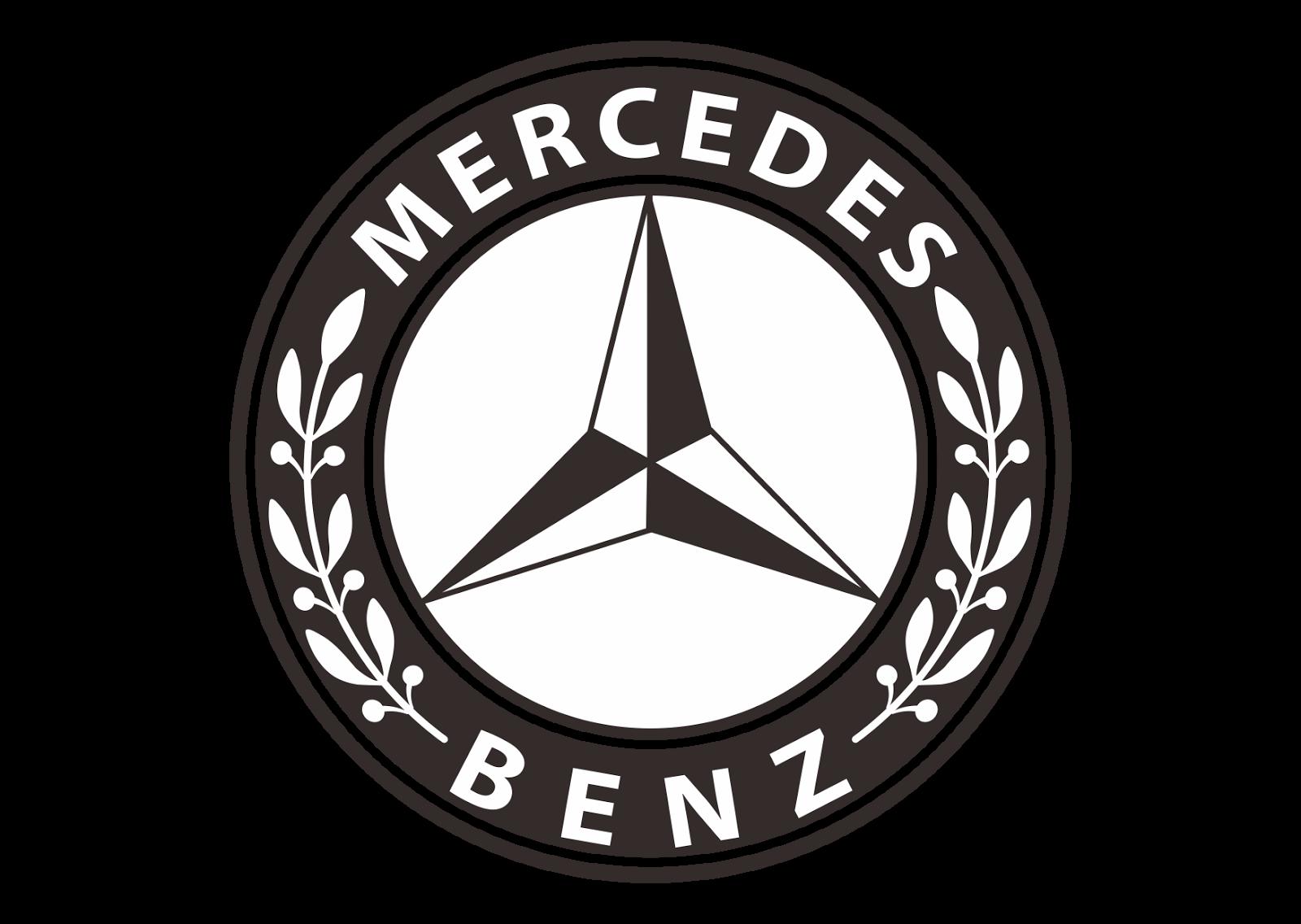 Mercedes Benz Logo Vector (design Part 2)~ Format Cdr, Ai
