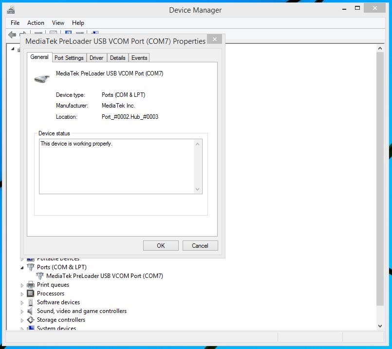MTK6589 USB VCOM WINDOWS 7 DRIVER