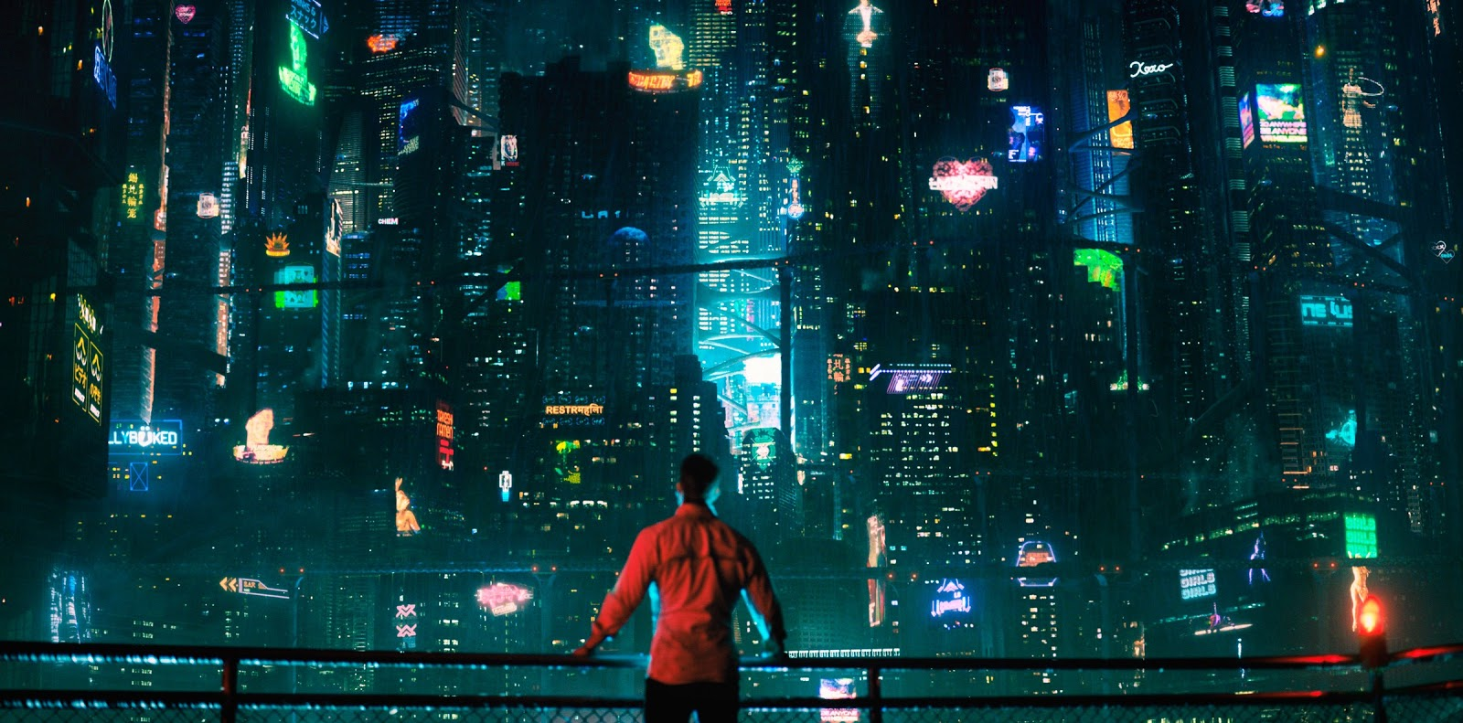 Joel Kinnaman en una imagen promocional del nuevo estreno de Netflix 'Altered Carbon'