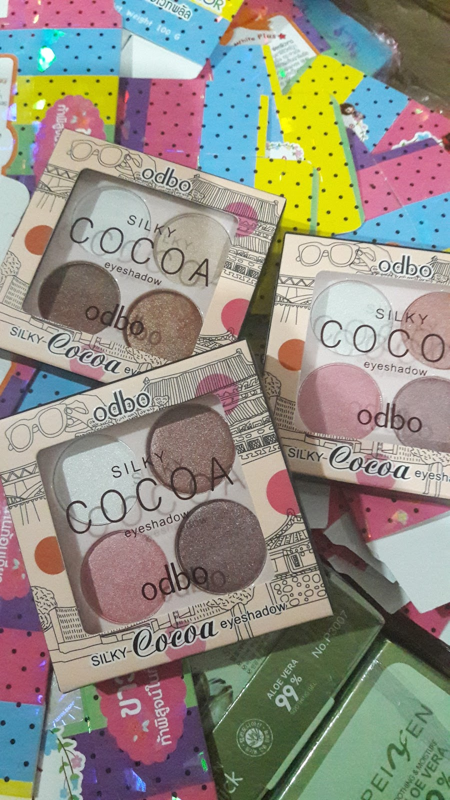 Silky Cocoa Eyeshadow By ODBO Solehah Beauty Centre