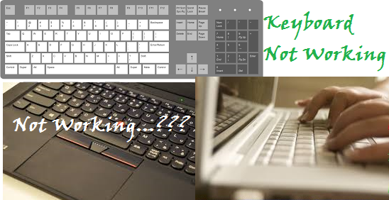 Keyboard-Not-Working