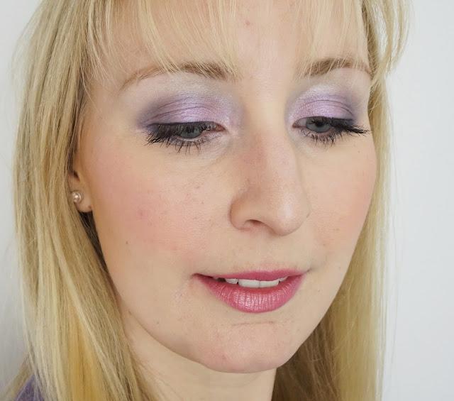 LOOK: Guerlain - Écrin 4 Couleurs (01 Les Violets), Eye Makeup, Dior, Clarins, benefit
