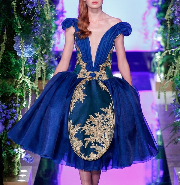 Guo Pei Fall 2017 Couture Collection at Paris Fashion Week Couture
