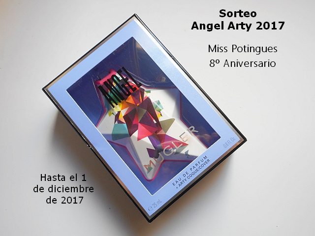 sorteo Angel Arty 2017