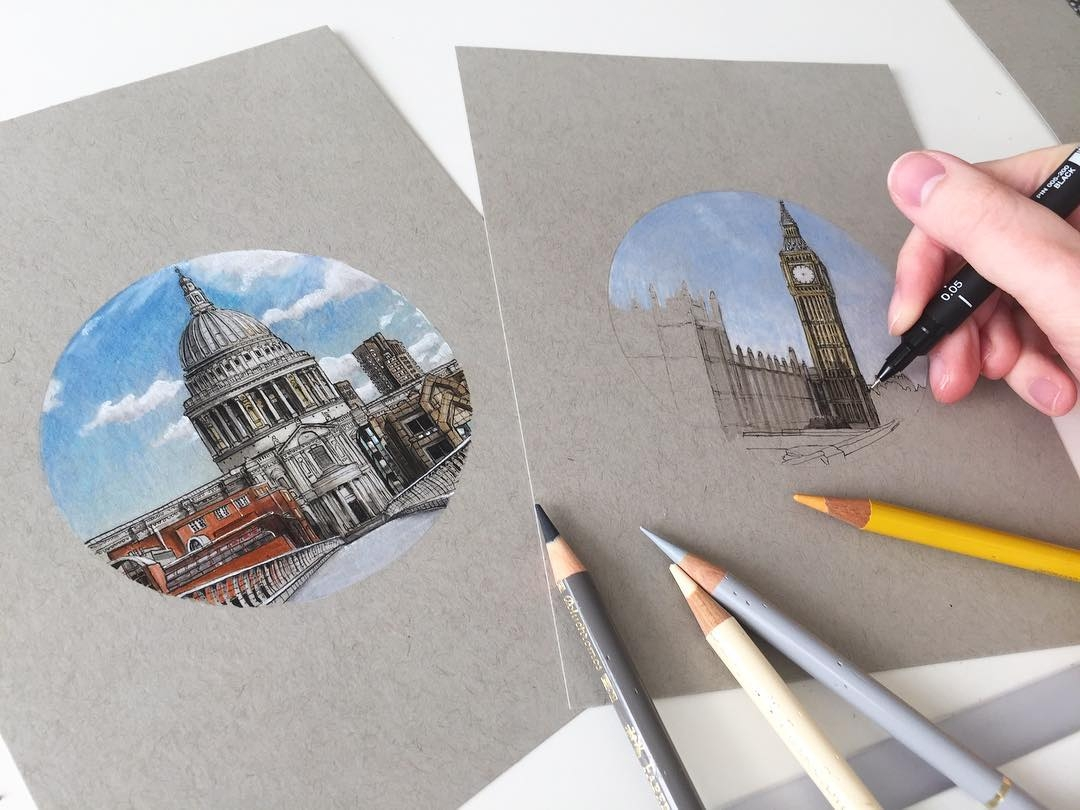11-Miniature-Drawings-Phoebe-Atkey-Urban-Sketcher-Architectural-Building-Drawings-www-designstack-co