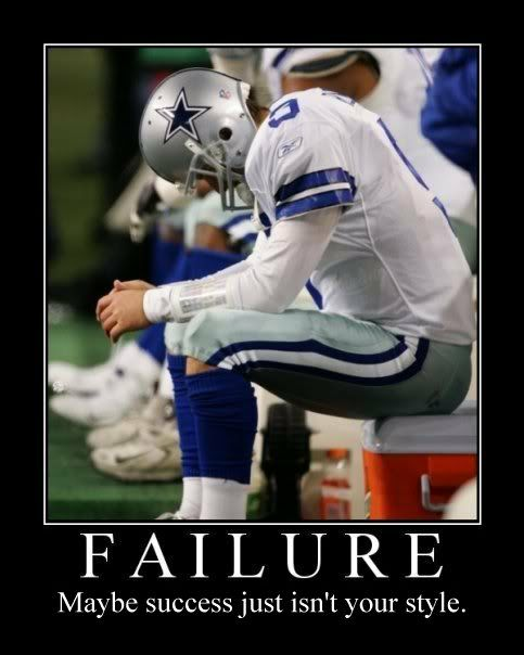 #cowboys #tonyromo-#Failure maybe success just isn't your style