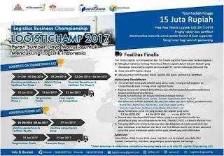LogistiChamp2017LogisticsBusinessCompetition Untuk SMA & SMK