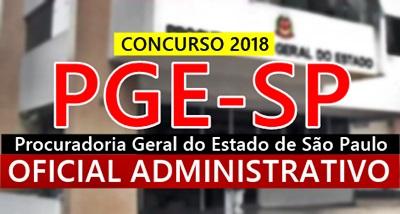 Concurso PGE-SP 2018