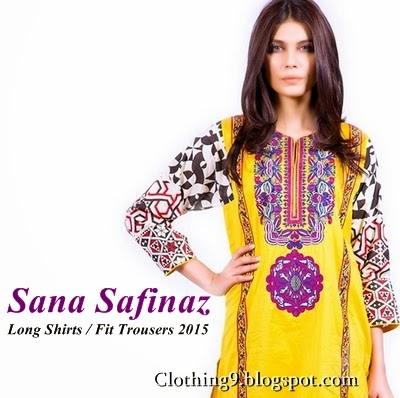 c4cc0e4461 ... leading designers and most celebrated fashion icons have launched Ready  to Wear Lawn Kurta and Fit Trousers Fashion for Summer 2015-16. Sana Safinaz  are ...