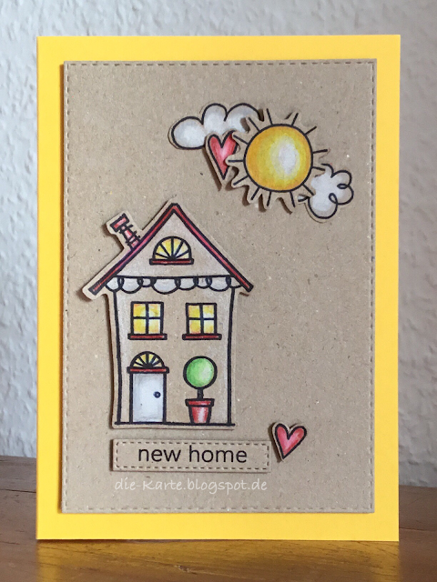 """Home Sweet Home"" Jane's Doodles, ""new home"" aus ""A little Sentimental""  Clearly Besotted"