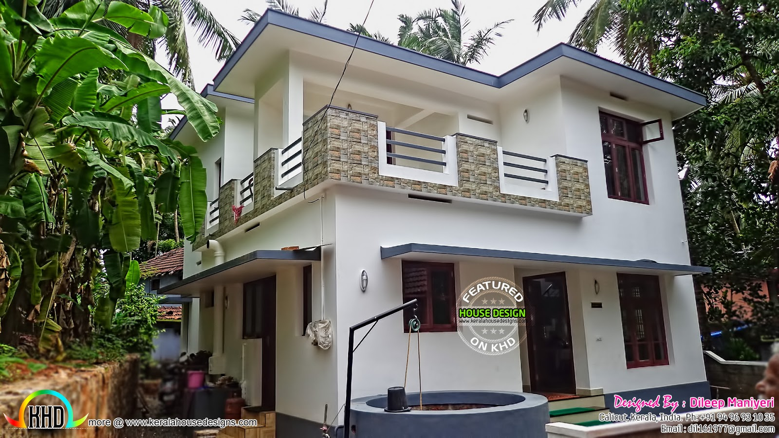1780 square feet home finished kerala home design and for House plans with finished photos