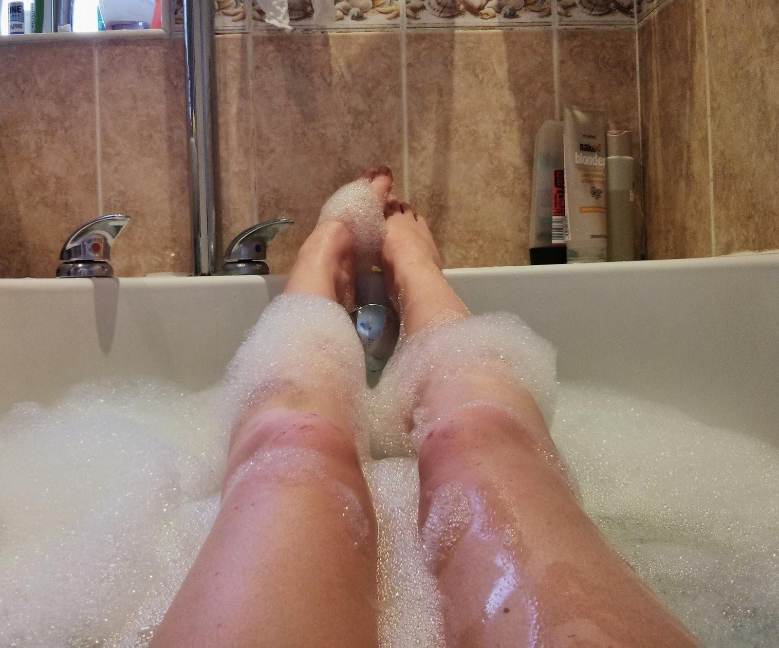 A well deserved bath