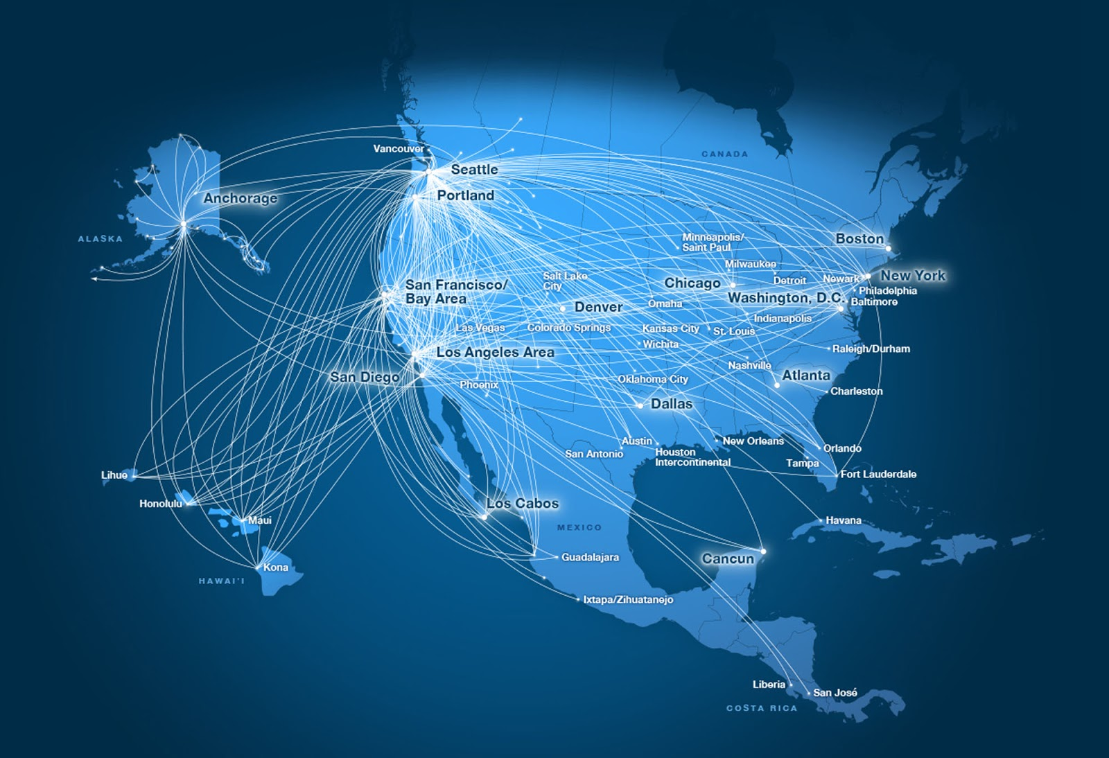 account and flyers on virgin american can credit miles to their mileage plan account take a look at the combined routemap of the new airlines here
