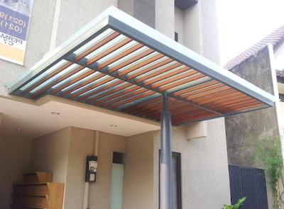 model kanopi baja ringan minimalis terbaru