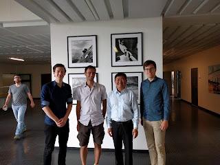 Chụp với TS. Francesco Ciari, IVT Institute, ETHZ, Thụy Sỹ