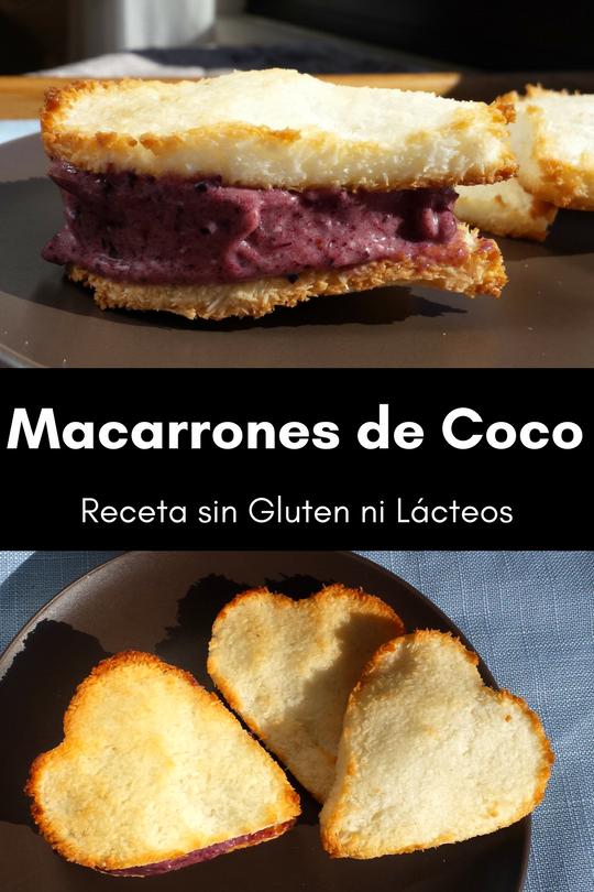 Macarrones de Coco - Receta Fácil