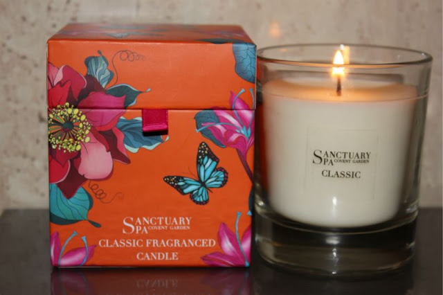 Sanctuary Spa Classic Fragranced Candle Review The
