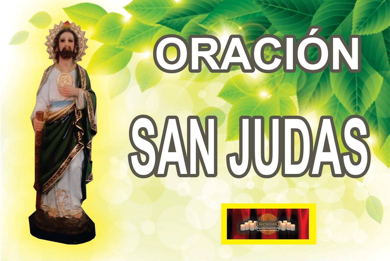 Esoterismo Ayuda Espiritual Oración De San Judas Tadeo