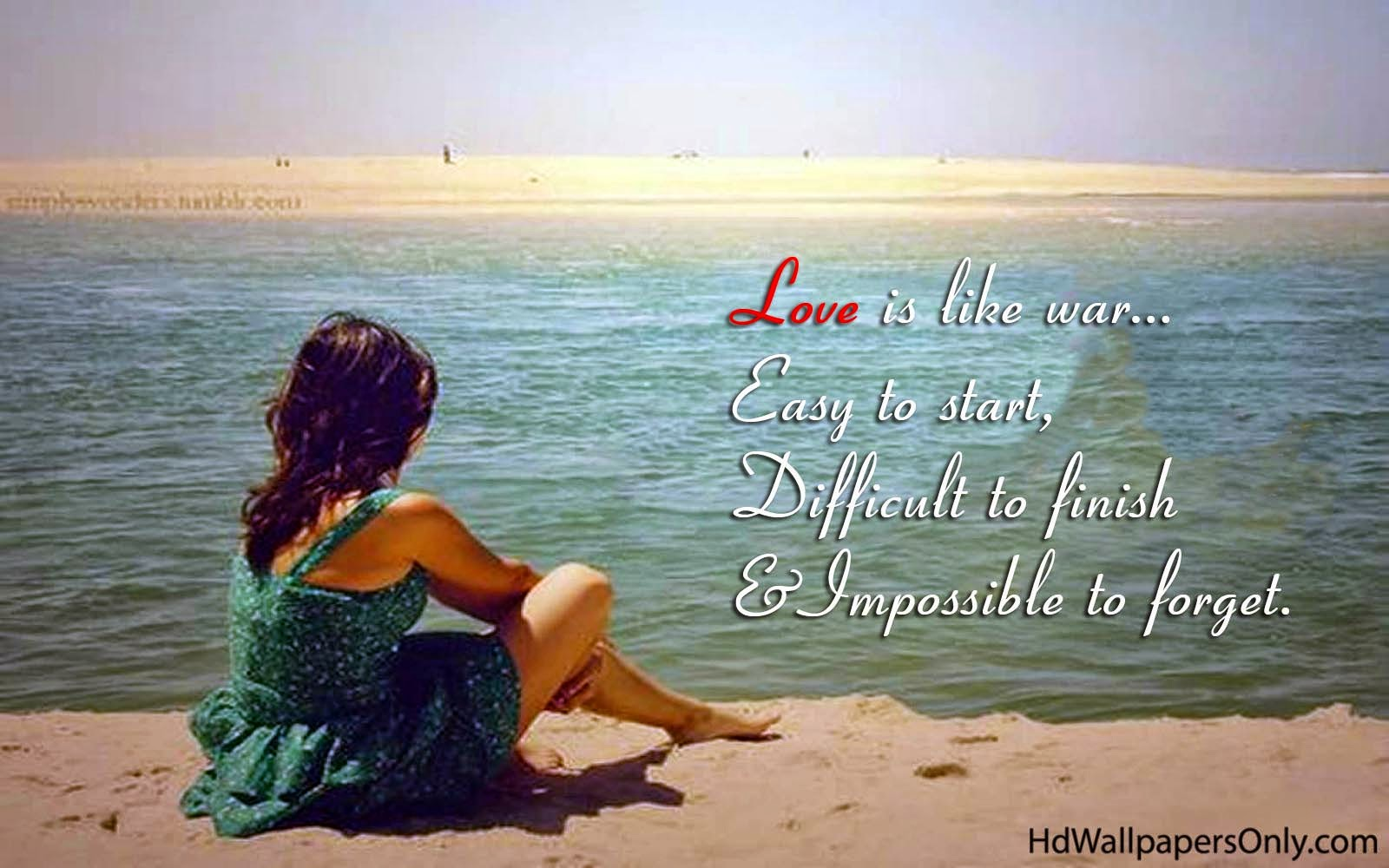 Love Quotes On The Beach Linkis Com
