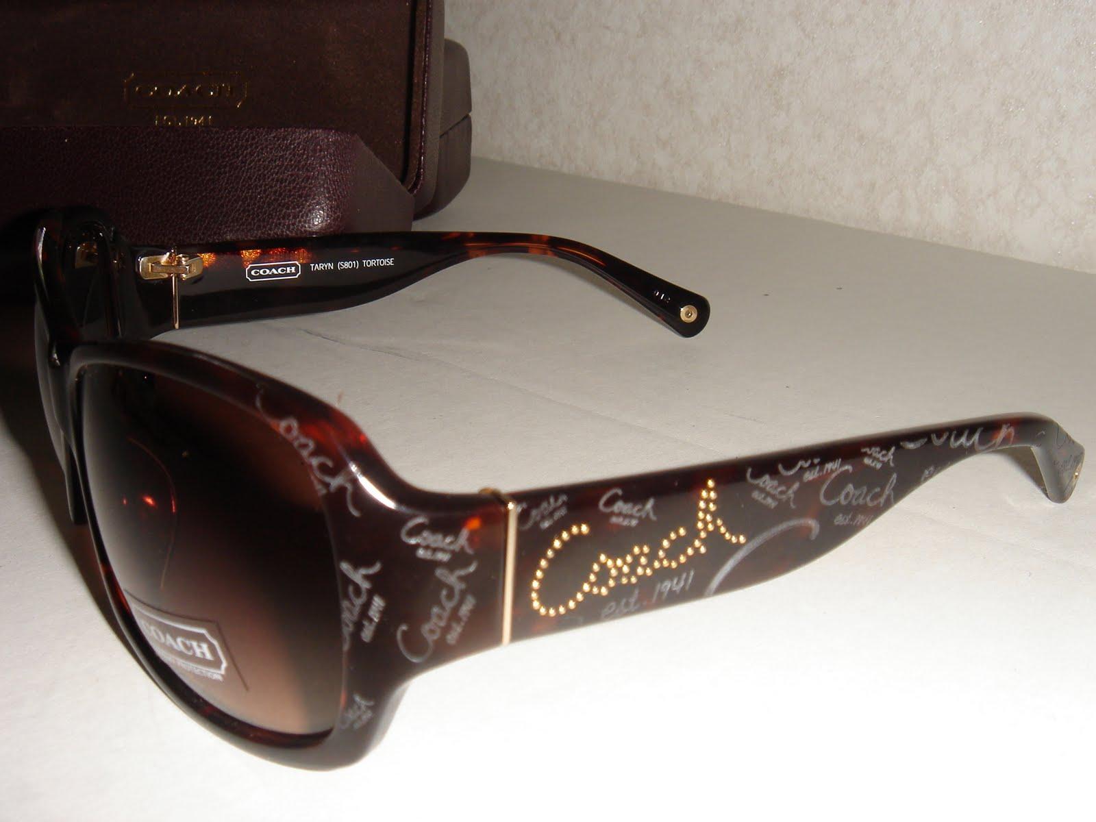 05c98f26ae011 ... spain coach sunglasses taryn s801 tortoise w case c834d 9cb9f ...