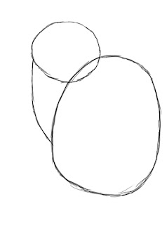 how to draw a circle from the top