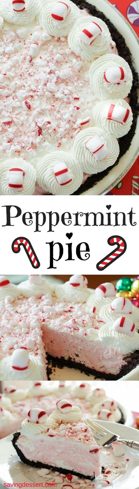 alongside all the flavors of the vacation flavor Peppermint Pie