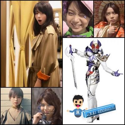 Kamen Rider Kivala diperankan oleh Kanna Moriya