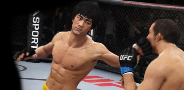 Bruce Lee estará de volta em UFC 2, abusando da velocidade e dos golpes certeiros