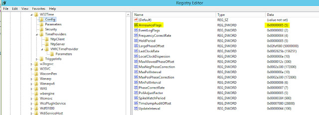 NTP Configuration in Server 2016
