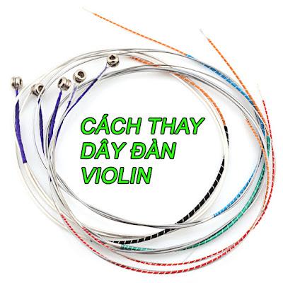 Chọn dây đàn violin