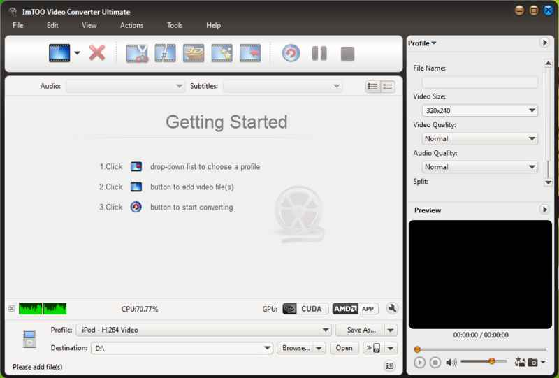 ImTOO Video Converter Ultimate v7 4 0 build 20120710 + Key
