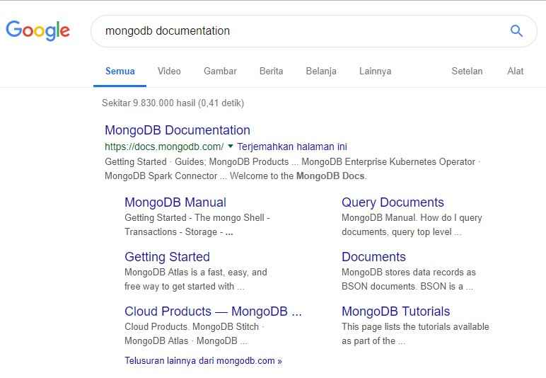 MongoDB Documentation