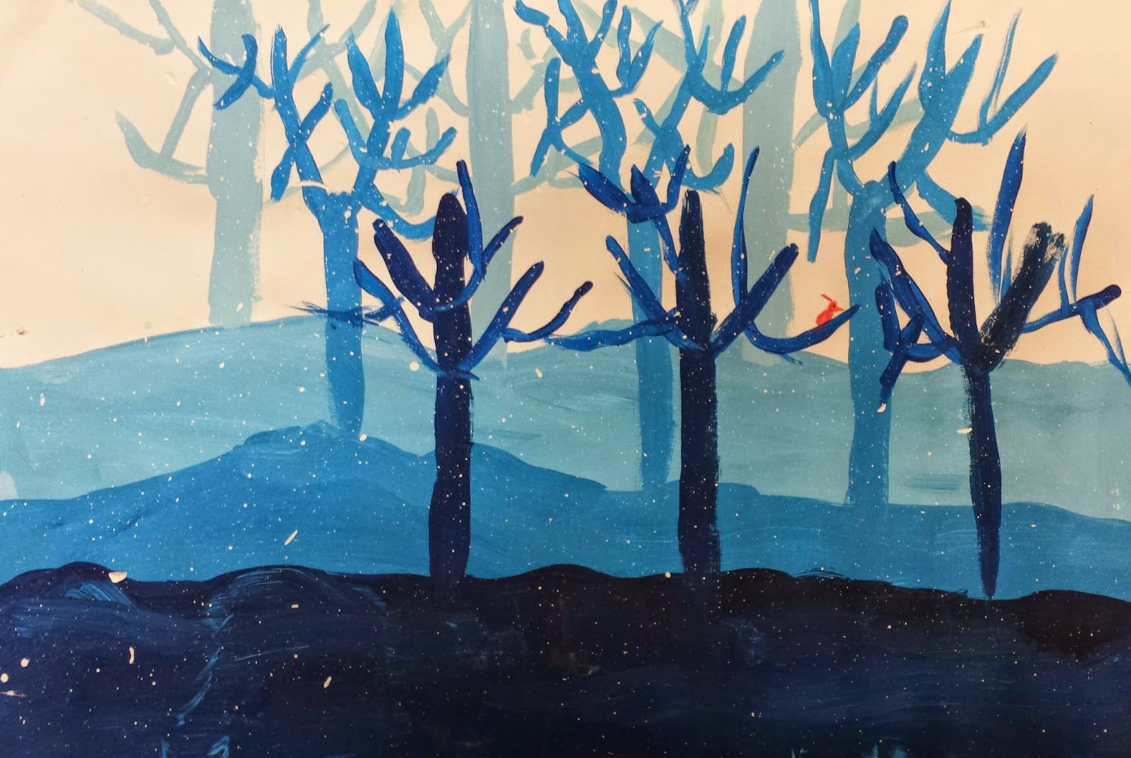 Winter Art Projects For Grade 1