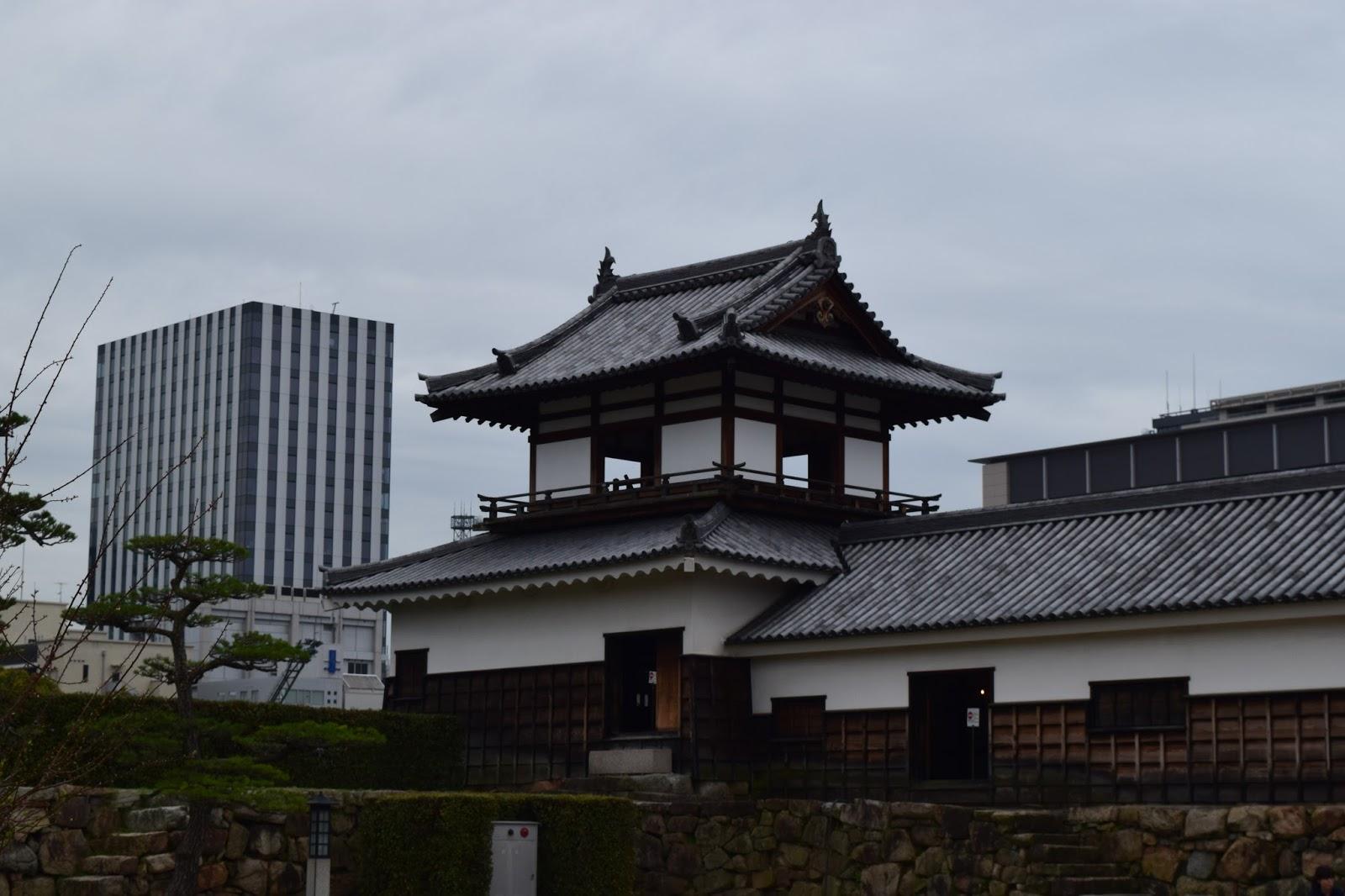 Hiroshima castle wall
