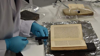 Οι μυρωδιές των παλαιών βιβλίων τμήμα της πολιτιστικής κληρονομιάς