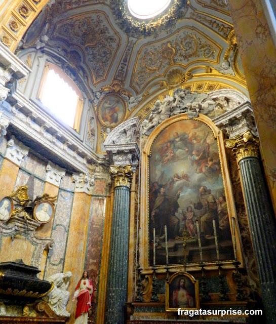 Altar da Igreja de San Francesco a Ripa, Trastevere, Roma