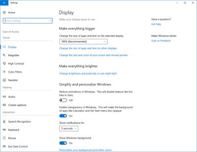 Aggiornamento firmware Windows 10 Redstone 4 download PC tablet