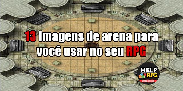 13 Imagens de arena para você usar no seu RPG